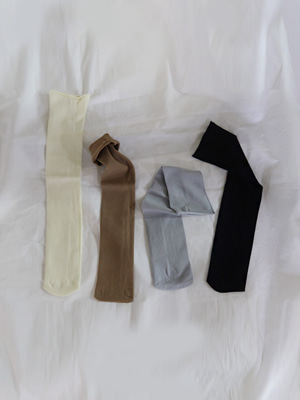 span socks (vanila/brown/gray/black)