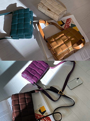 btg square bag (ivory/camel/deepbrown/purple/bluegreen/black)